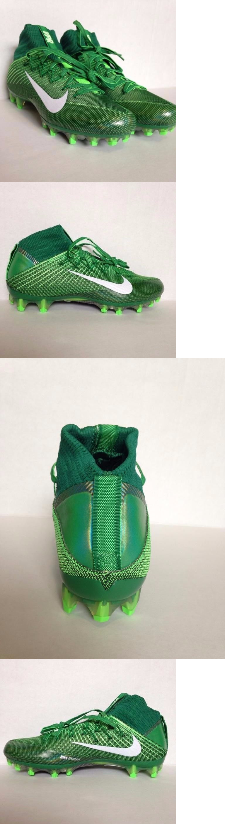 Men 159116: Nike Vapor Untouchable 2 Football Cleats Green White New  824470-313 Size