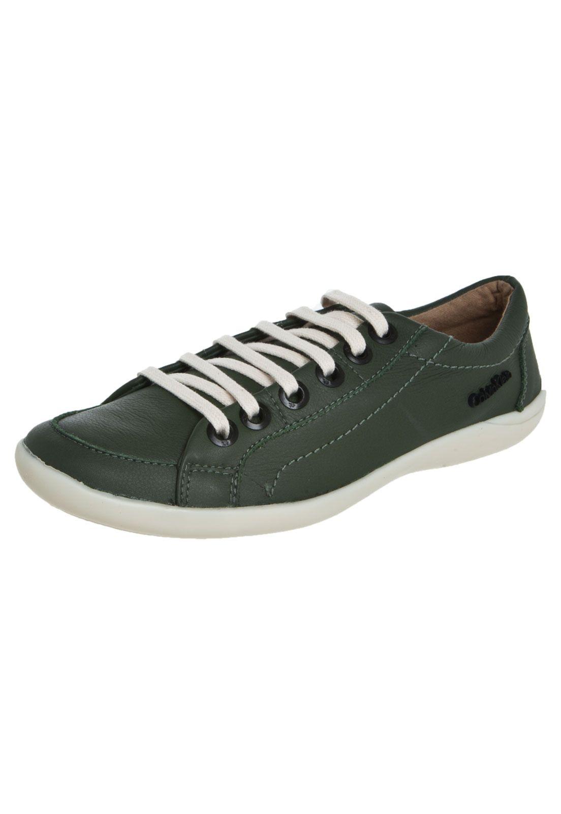 Tênis Calvin Klein Cano Baixo Verde - Compre Agora   Dafiti   Moda ... 46d8559450