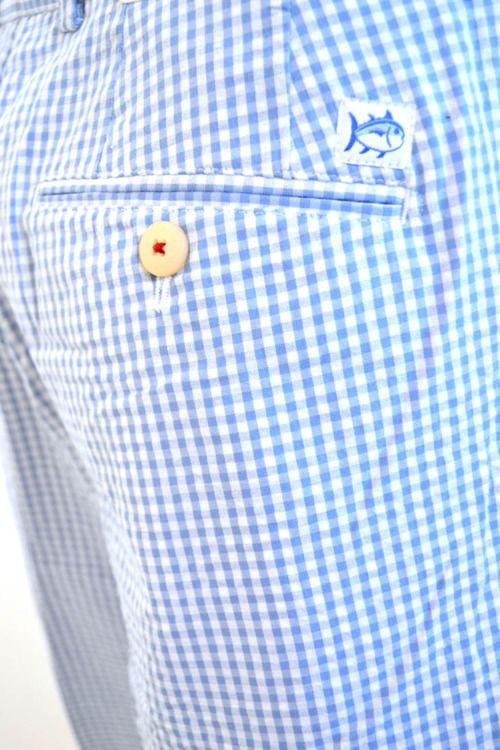 Preppy Gingham southern tide shorts