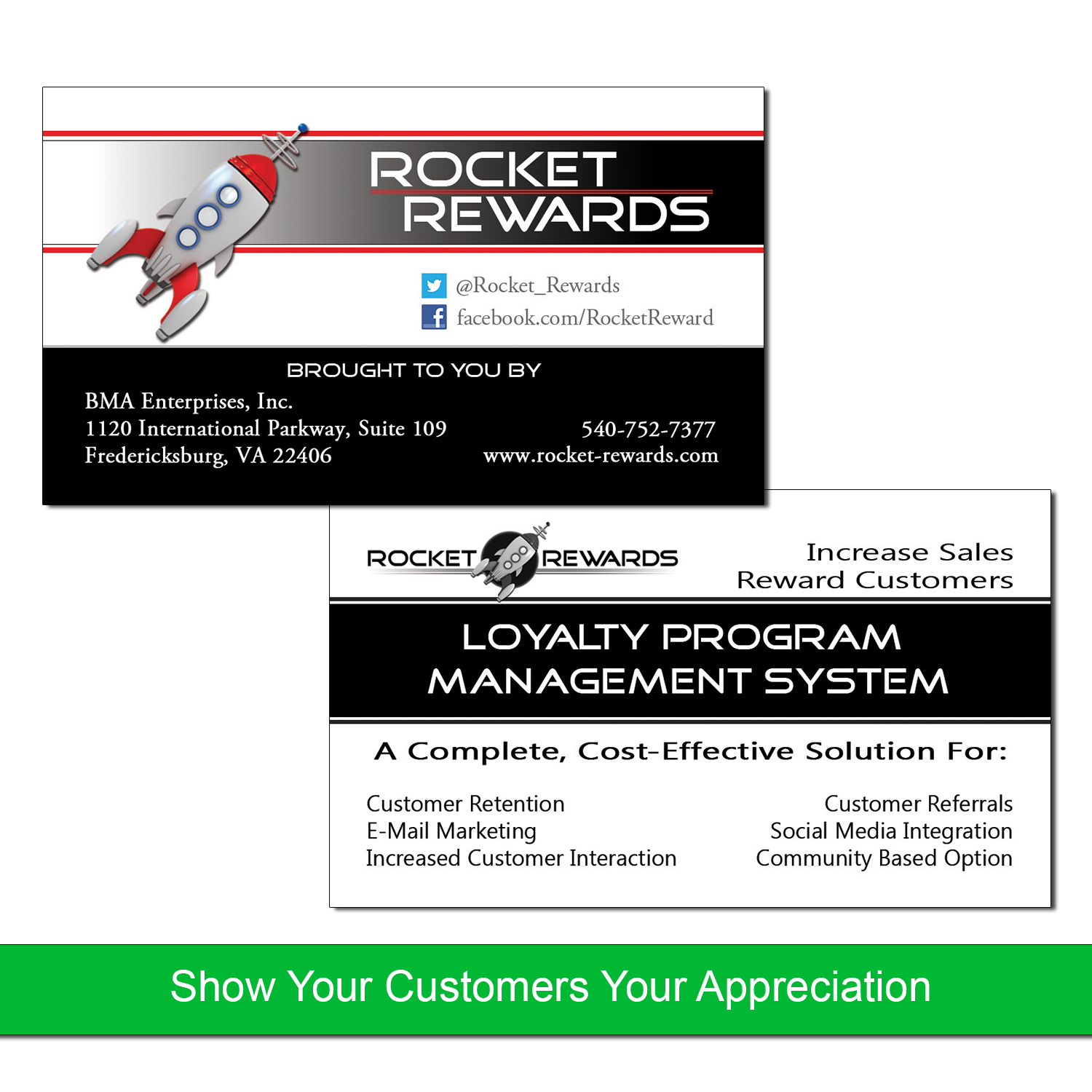 Loyalty Business Cards Program Management Business Loyalty