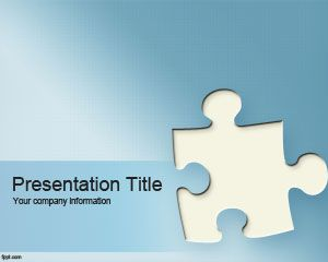 Free puzzle powerpoint template for games and presentations free puzzle powerpoint template for games and presentations toneelgroepblik Choice Image