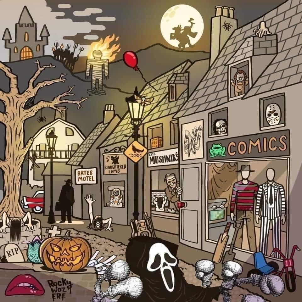 Pin by Jeff Owens on Modern Horror in 2020 Halloween