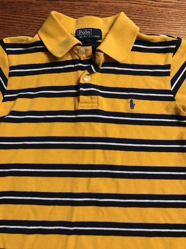 Polo, Ralph Lauren Boys Size 6 Multi Color Striped  Short Sleeve Polo Shirt    eBay