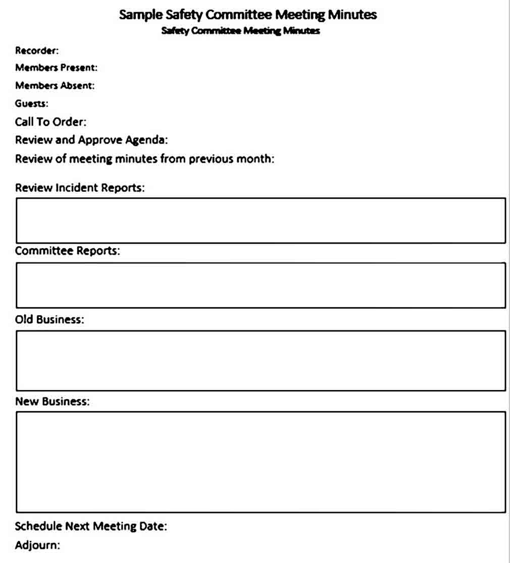 Why You Need To Look For And Use Meeting Minutes Template For Your Meeting Record Meeting Minutes Template Meeting Minutes Business Template