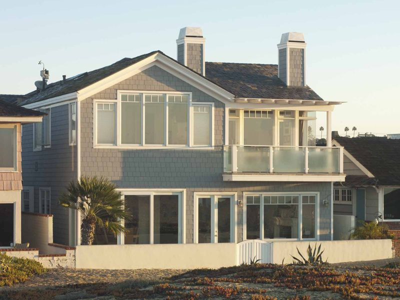 Beach Home Exterior Colors | Beach House Gray | House colors ...
