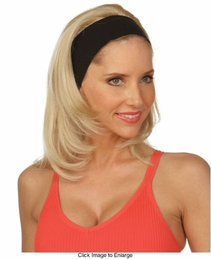 wigs with attached headbands  9e5c45cd633
