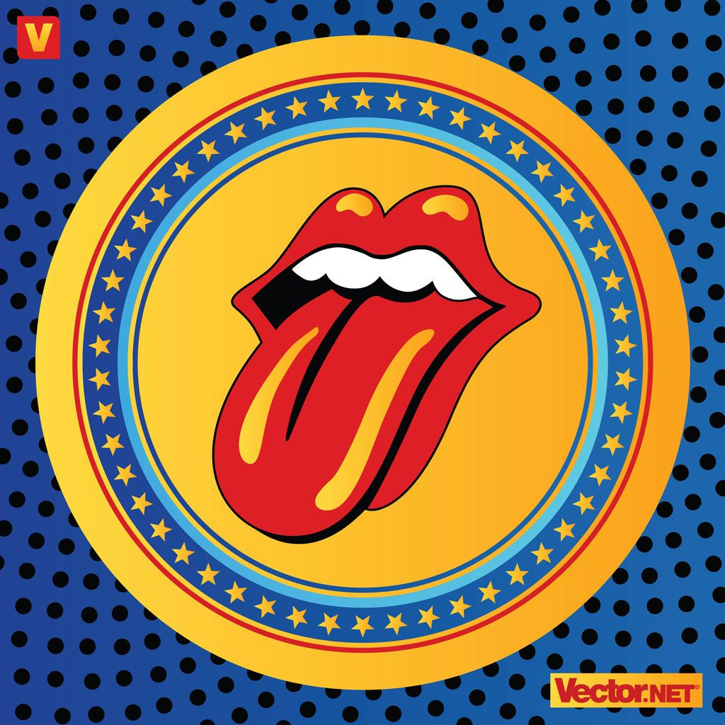 rolling stones rolling stones vector ai eps pdf svg
