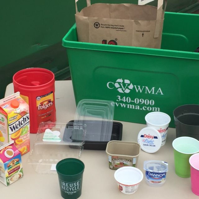 NEW ITEMS that can be recycled now with CVWMA programs.