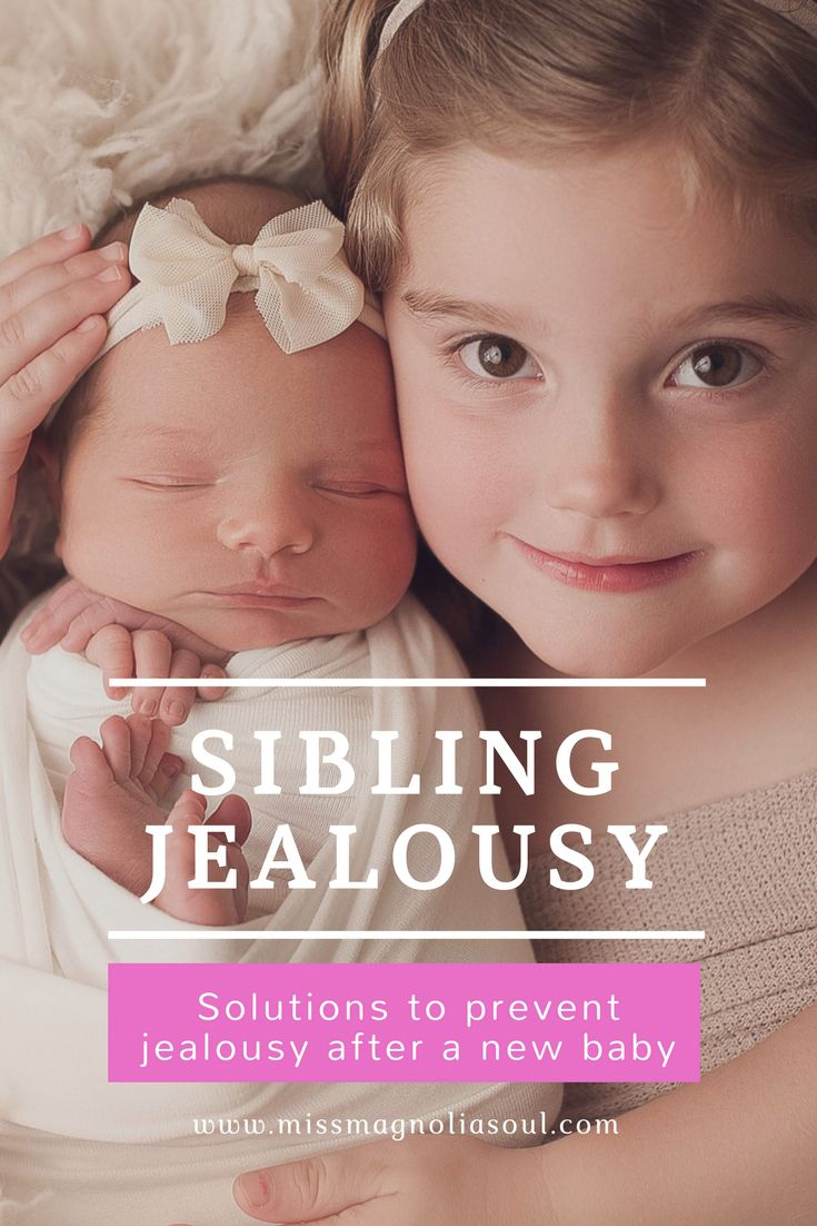 Tips to help prevent sibling jealousy after a newborn baby. Read advise on ways to help toddlers adjust to a new sibling.