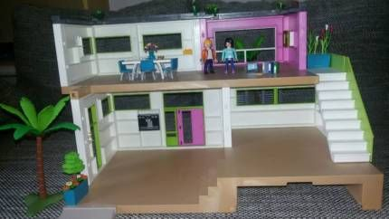playmobil luxusvilla plus extra zubeh r m bel top zustand in schleswig holstein elmshorn. Black Bedroom Furniture Sets. Home Design Ideas