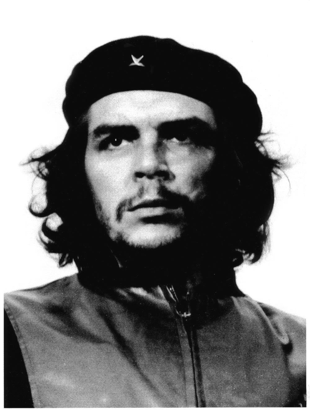 bfcd8814649d5 La famosa foto del Che Guevara en la que aparece su rostro con la boina  negra mirando a lo lejos