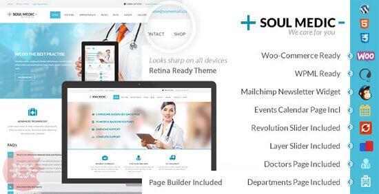 Soulmedic v1.7 WordPress Theme Nulled Free Download Latest Version ...