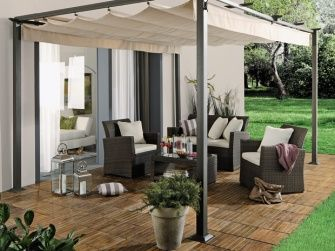 sun fun raffpavillon jakarta xxl 400 x 300 cm garten. Black Bedroom Furniture Sets. Home Design Ideas