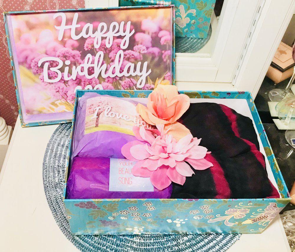 mom birthday gift box