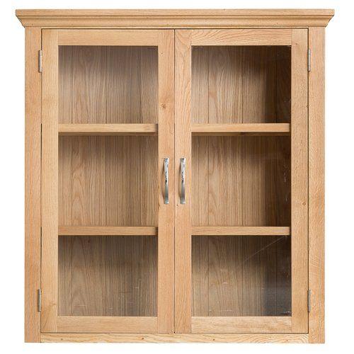 Gracie Oaks Mowgli Display Cabinet