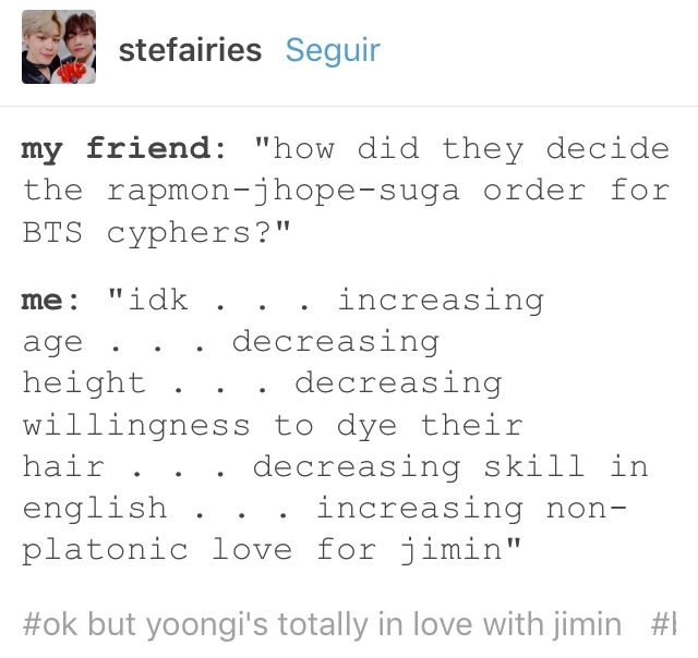 Ok But Yoongi Is Pretty Fluent In English He Just Doesn T Show It Bts Scenarios Bts Yoonmin