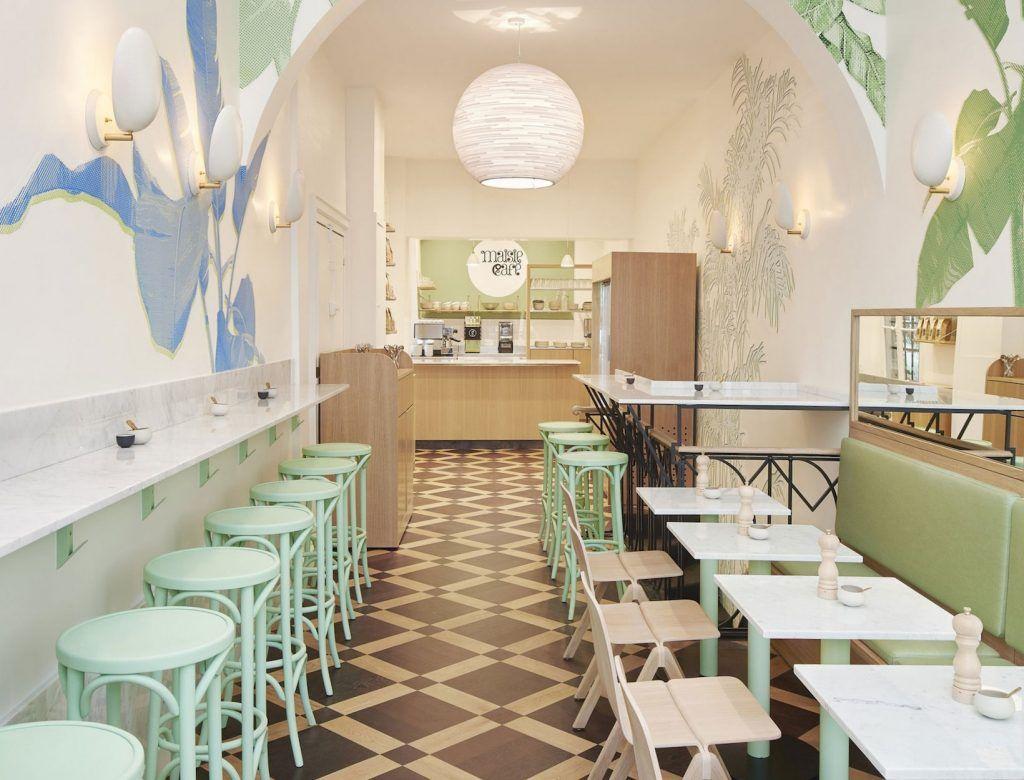 The Paris Hipster Guide Eat Goop Cafe Interior Design Cafe Interior Restaurant Design
