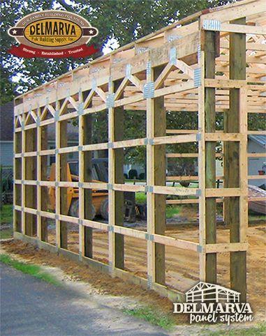 Delmarva Pole Building Supply's DIY Pole Building Packages ...
