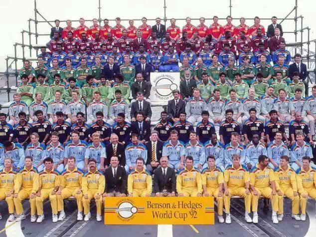 1992 Cricket World Cup Teams Sports World Cup Teams
