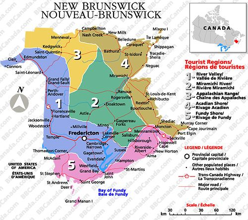 new brunswick tourist map Google Search Trip Planning Canadas