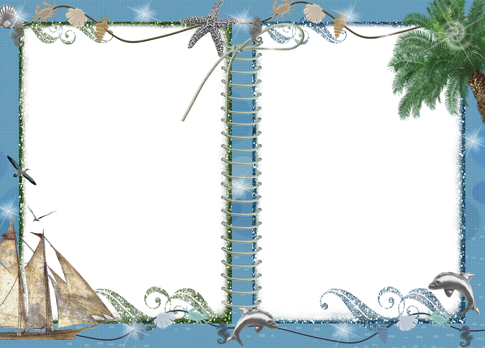 Заставку, шаблон для морской открытки