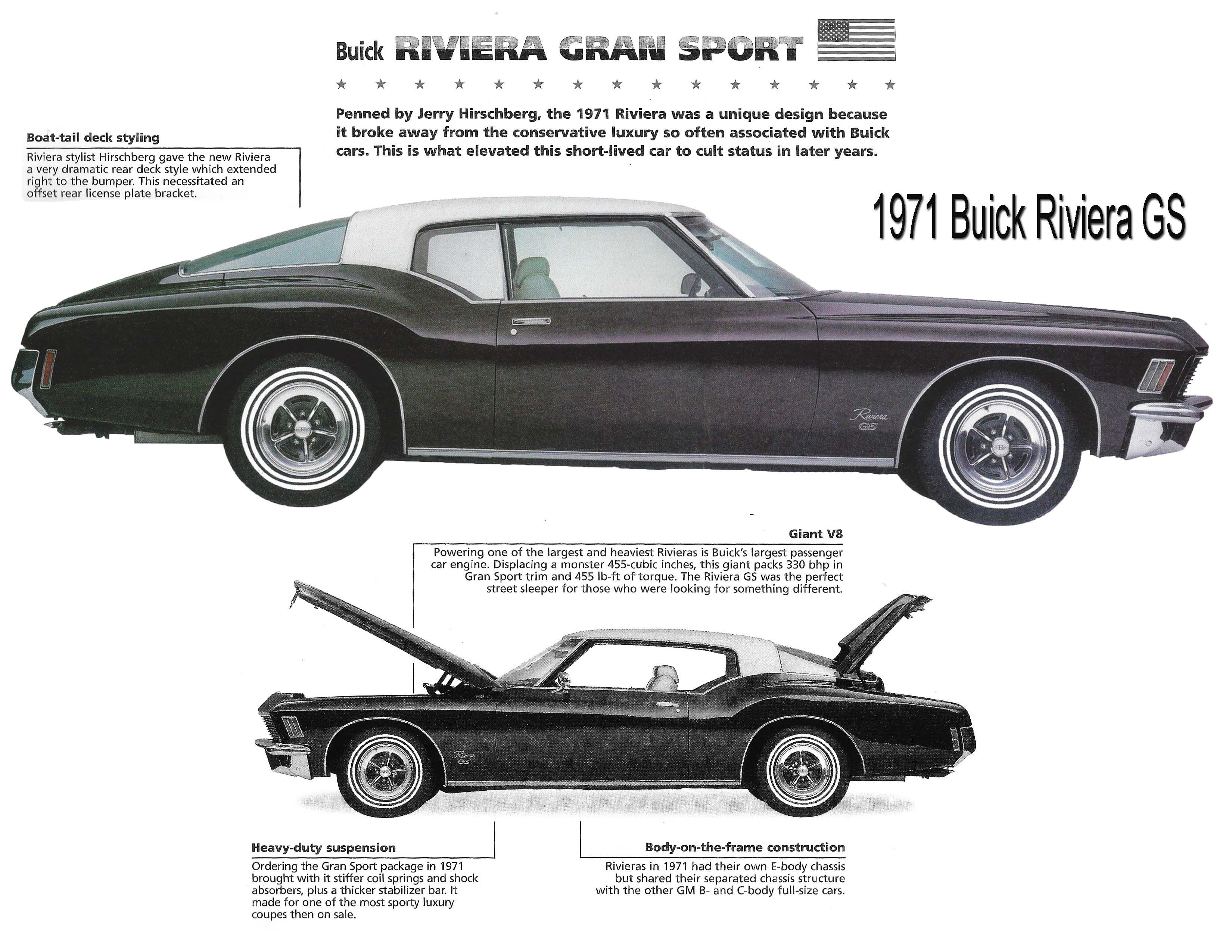 From The Brochure Buick Riviera Cool Car Pictures Classic Porsche