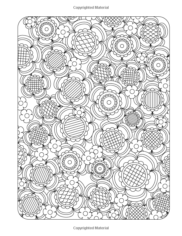 Flower Designs Coloring Book: An Adult Coloring Book for Stress-Relief, Relaxation, Meditation and Creativity (Volume 1): Jenean Morrison: 9780615983981: Amazon.com: Books