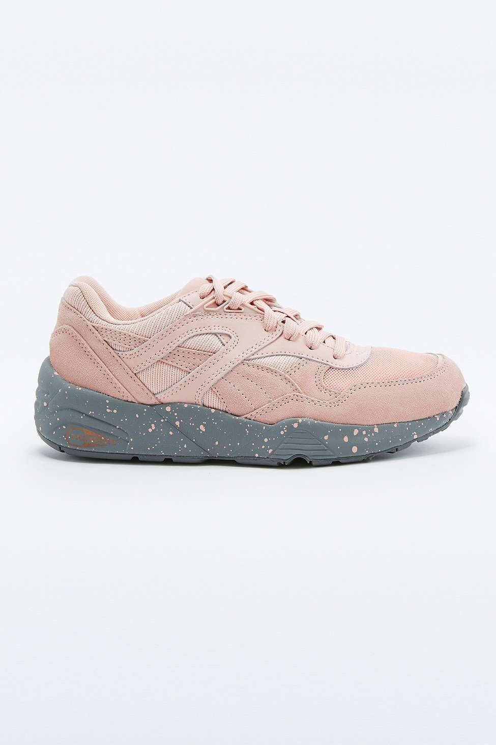 1593e979bf9 Puma Trinomic R698 Pink Trainers - Urban Outfitters Urban Outfitters