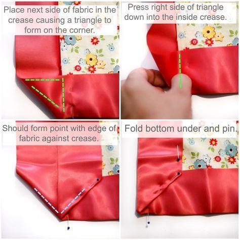Best Patchwork Baby Blanket Tutorial Quilt Binding 41