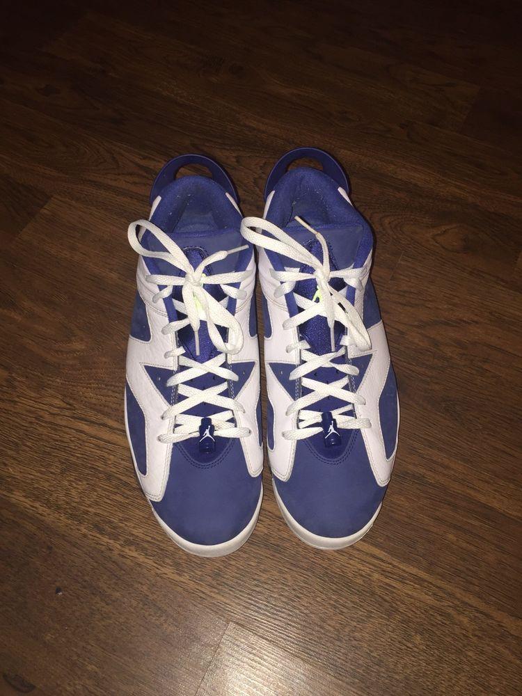 f1f026e5610a Air Jordan 6 Low Seahawk Size 11  fashion  clothing  shoes  accessories