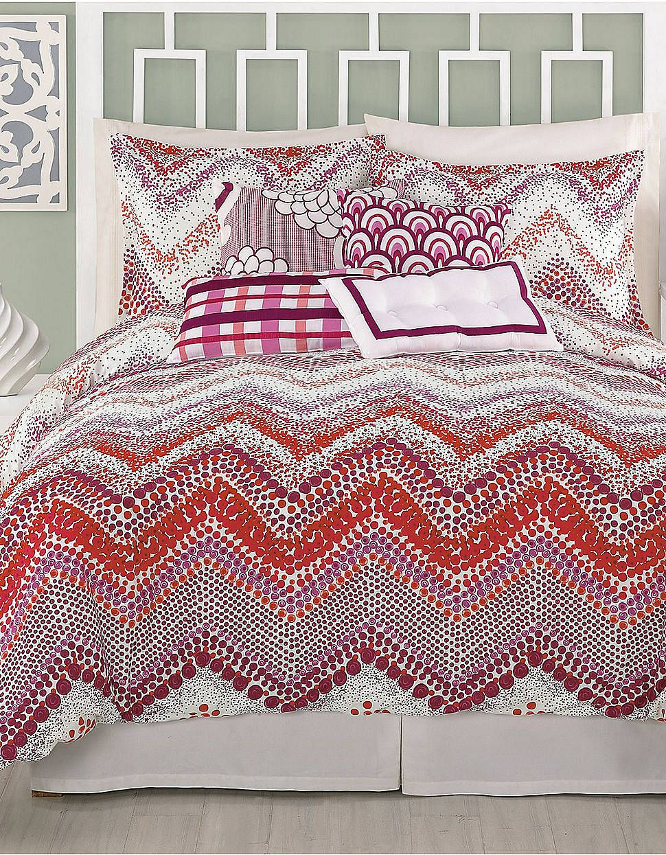 Chevron Dots King Comforter Set Lord And Taylor