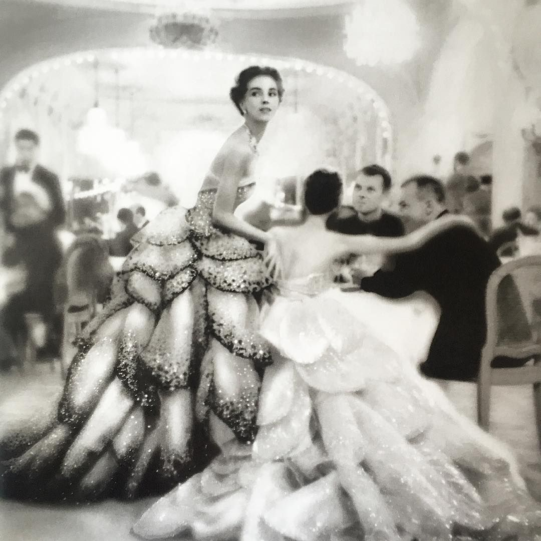 Christian Dior Haute Couture 1949 photographed by Avedon