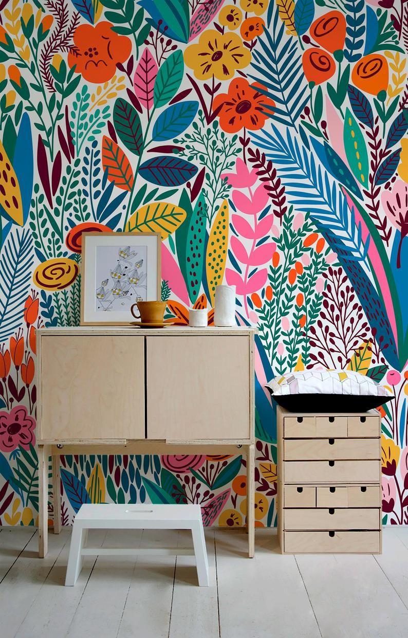 Removable Wallpaper Scandinavian Wallpaper Tempora