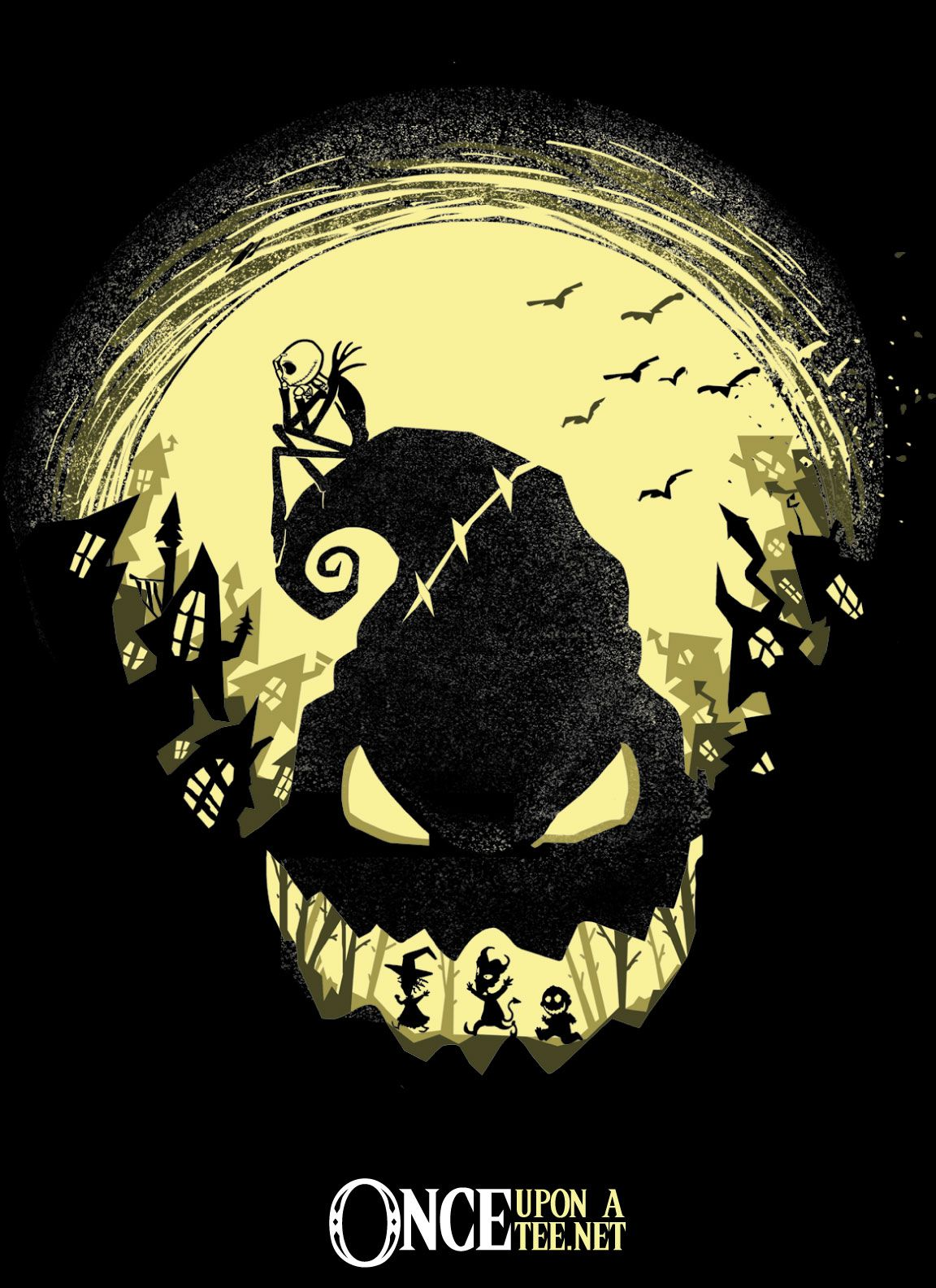 """Jack\'s Nightmare"""" by Harantula is a nightmare of a silhouette ..."""