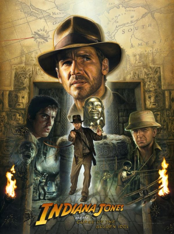Raiders Of The Lost Ark 1981 Hd Wallpaper From Gallsource Com Indiana Jones Films Indiana Jones Indiana