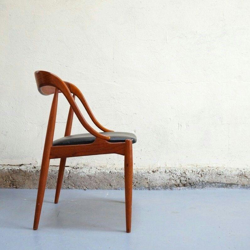 Table Basse Scandinave Teck Design Danois Arrebo Années - Fauteuil design danois
