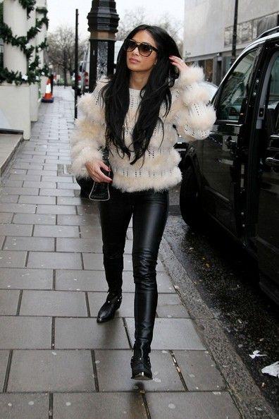 Nicole Scherzinger - X Factor Judges and Contestants in London 4