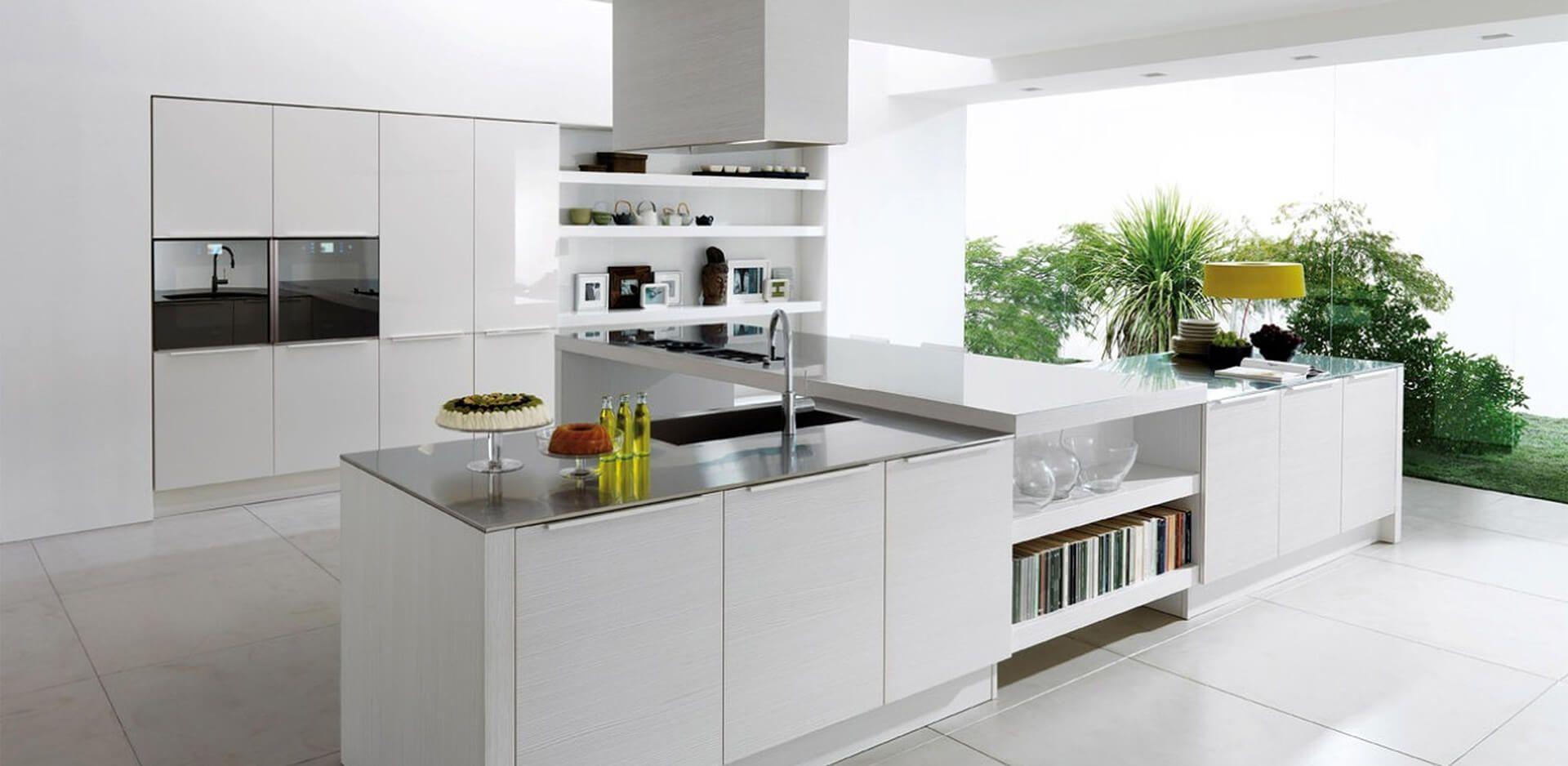 Best European Kitchen Design For You In 2018 And Beyond Modern White Kitchen Cabinets White Modern Kitchen Modern Kitchen Island