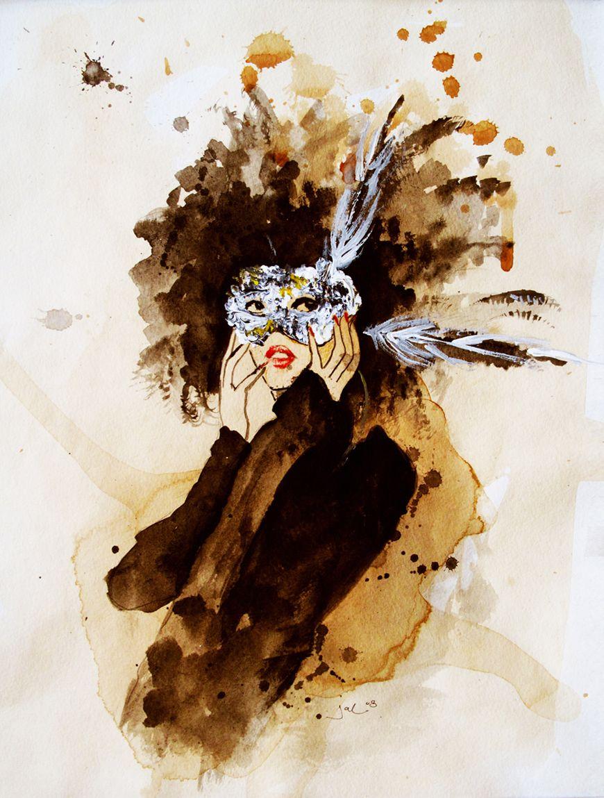 watercolor by Jacklyn Laryea
