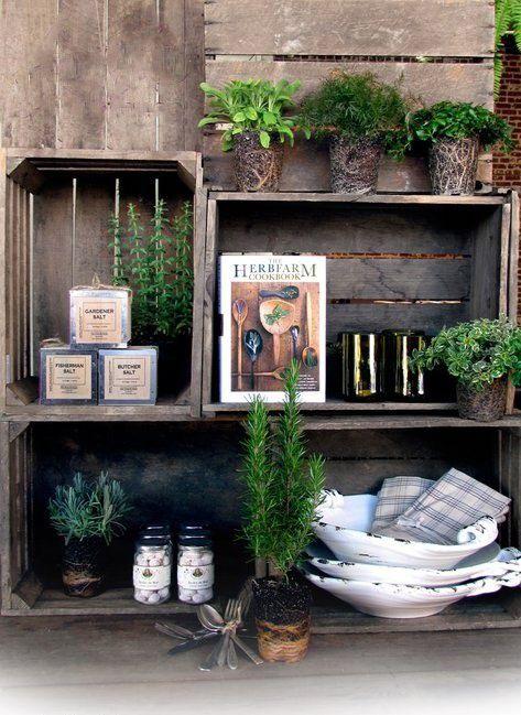 12 Diy Wooden Crates For Your Garden Backyard Design Diy Wooden Crate Crates