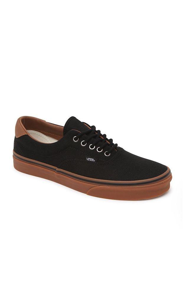 9315d702cb Vans Era 59 C L Black Gum Shoes - Mens Shoes - Black Gum