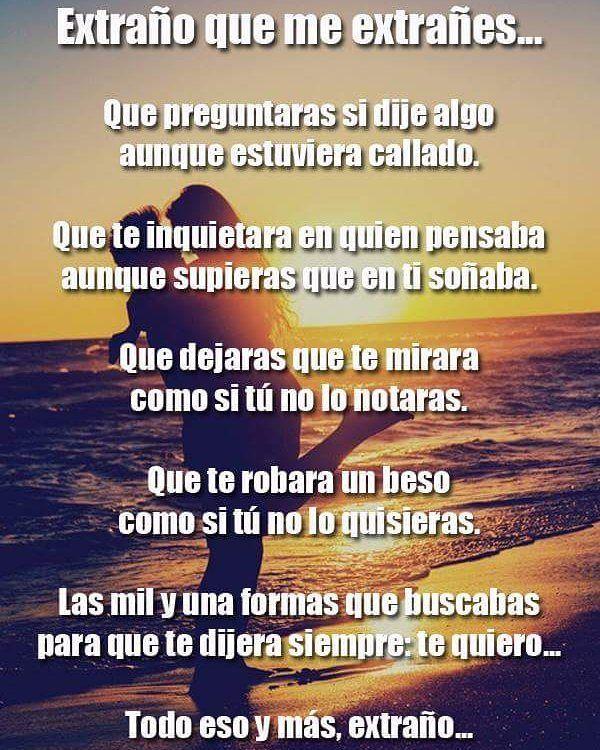 Poemas De Amor Con El Corazon Roto Extrano Que Me Extranes Poemas Para Enamorar Poemas Tristes