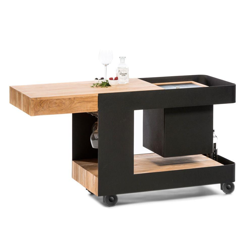 Tavoli E Sedie Da Esterno Per Bar Usati.Il Bar Mobile Puo Essere Usato Con O Senza Cubetti Di Ghiaccio E