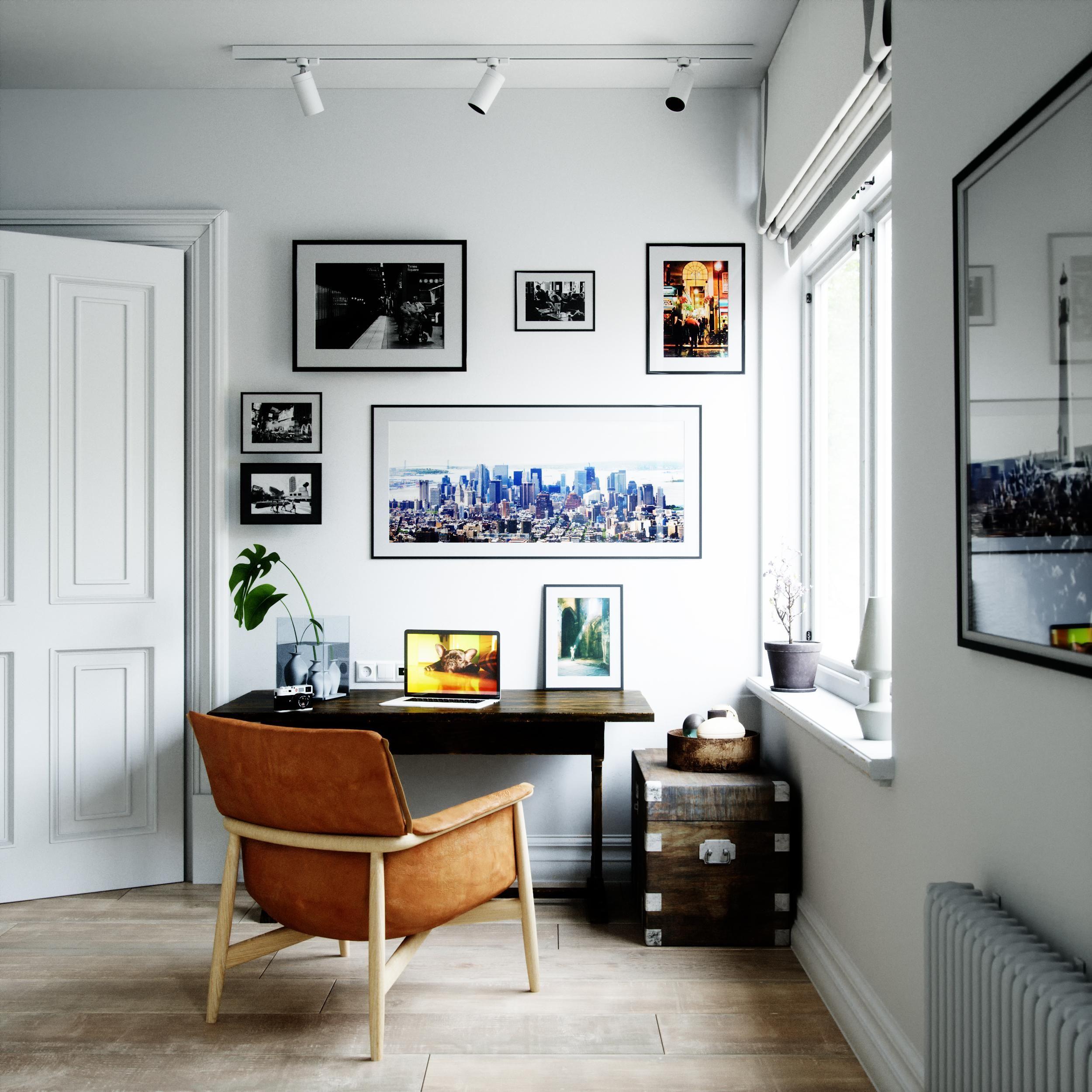 Warm corner ds max fstorm no post  oc homedecor homedecorideas room interiors interiordesign home also rh pinterest