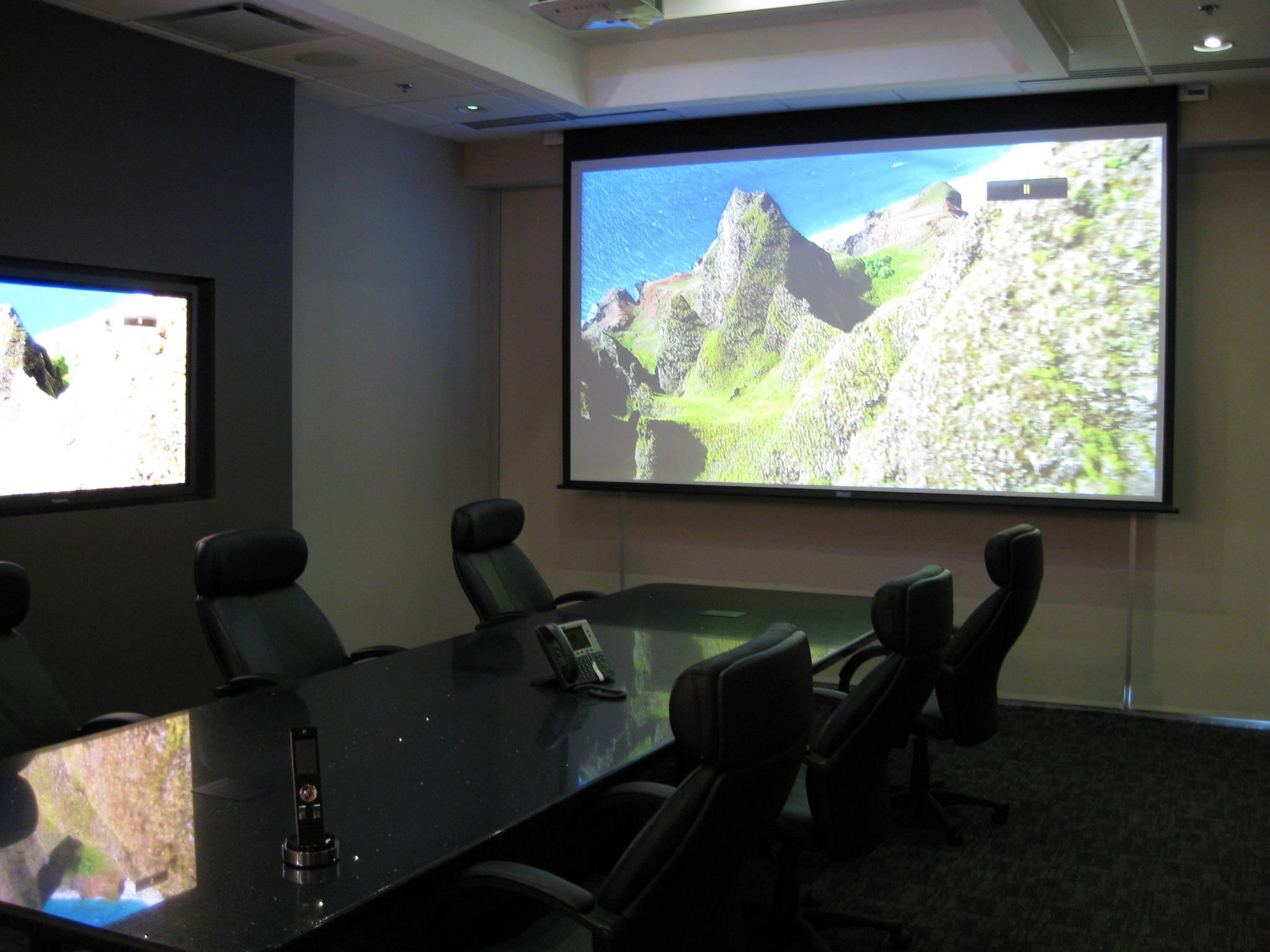 Easy Living with Technology designed conference room with