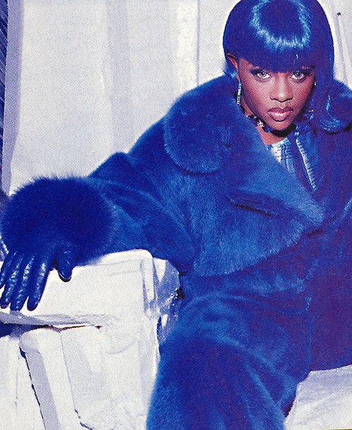 Lil Kim Blue Lil Kim Lil Kim 90s Lil Kim Young