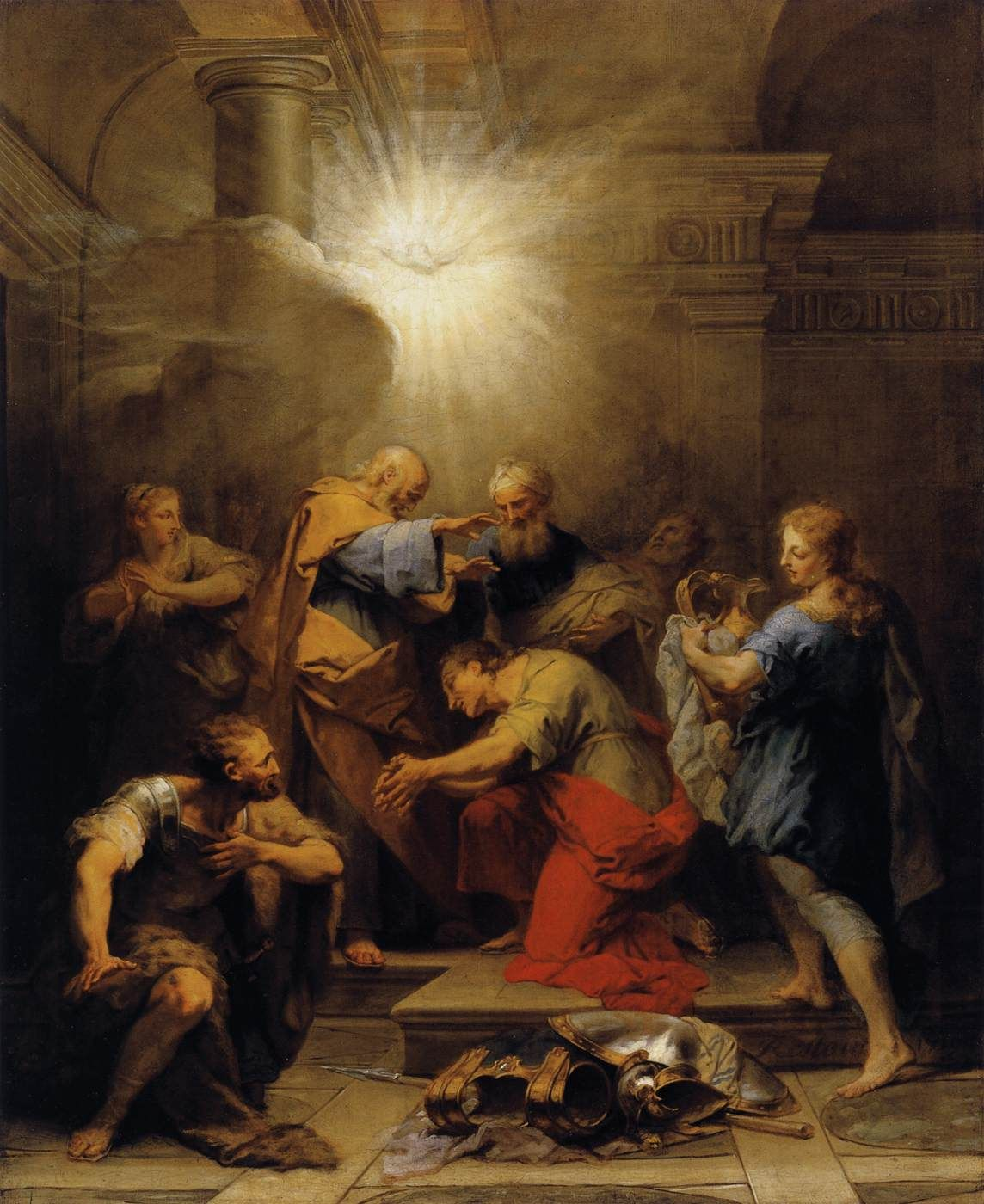 """Jesus later spoke to Ananias in a vision, and told him to go to the """"street which is called Straight"""", and ask """"in the house of Judas for one called Saul, of Tarsus"""". (Acts9:11)"""