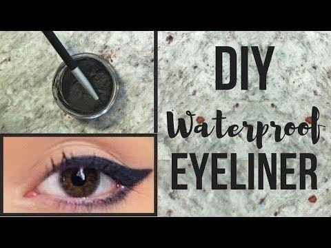diy eyeliner  easy homemade eyeliner  diy lipbam