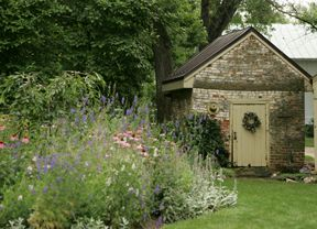 Garden by the Smokehouse at Old Acre, Waterford