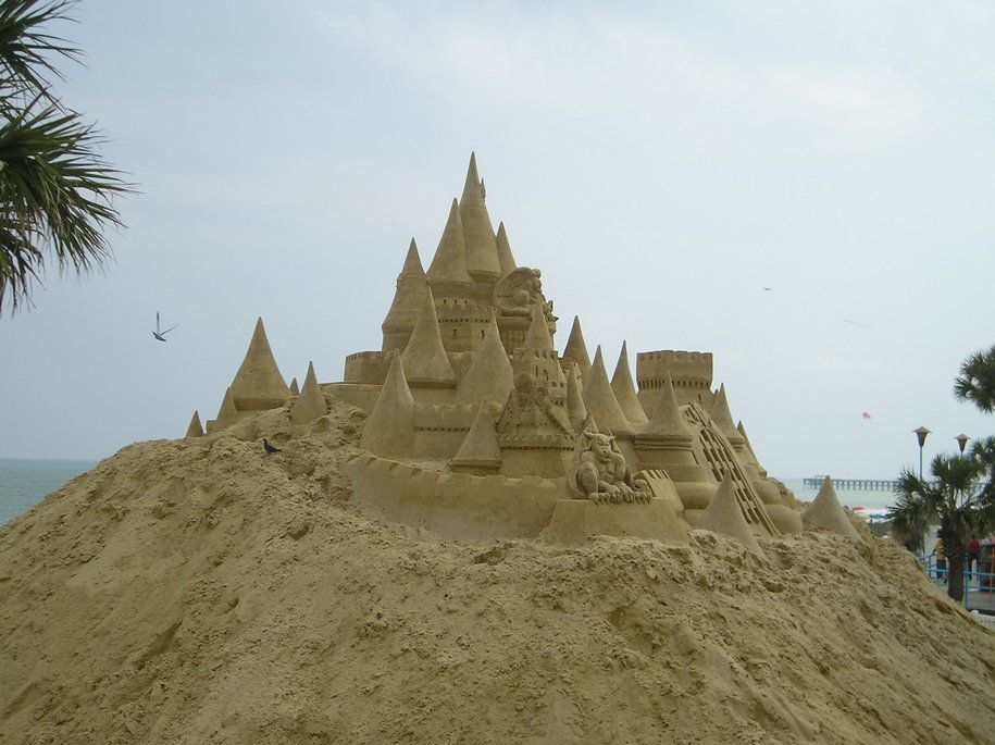 myrtle beach sand castle the best beaches in the world rh bramante it com
